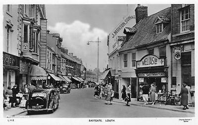 Eastgate Louth Shop Motor Car unused RP old pc Charles Skilton