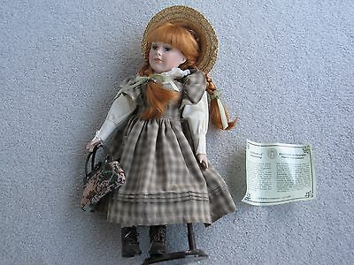 Ann Of Green Gables Doll $100.00..FREE SHIPPING... Vintage NEW... COLLECTIBLE