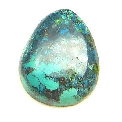 8.85 cts Natural Designer Untreated Azurite Gemstone Fancy Shape Loose Cabochon