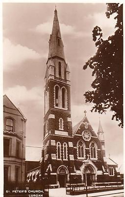 St Peter's Church Lurgan unused RP old pc National