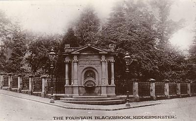The Fountain Blackbrook Kidderminster unused RP pc  H L Hodges