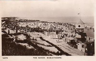 The Sands Mablethorpe Helter Skelter RP pc used 1909 WHS Kingsway