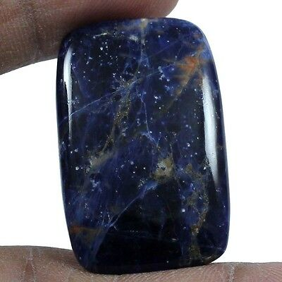 34.85 cts Natural Elegant Sodalite Octagon Loose Gemstone Cabochon For Jewelry
