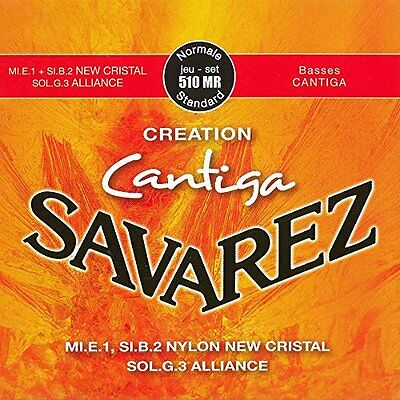 Savarez 656297 Corde per Chitarra Classica Creation Cantiga 510Mr Set Normale