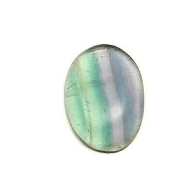 33.10 cts Natural Untreated Fluorite Cabochon Oval Loose Gemstone For Jewelry
