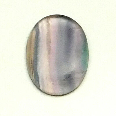 48.60 cts Natural Untreated Fluorite Cabochon Oval Loose Gemstone For Jewelry
