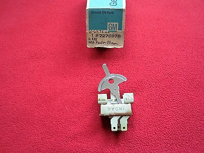59,60,61,62 Cadillac Nos Gm Heater A/c Blower Switch