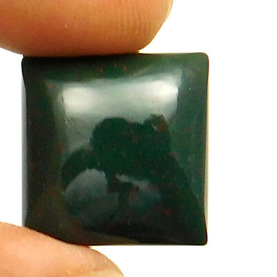 18.10 cts Natural Bloodstone Gemstone Cushion Shape Loose Cabochon For Jewelry