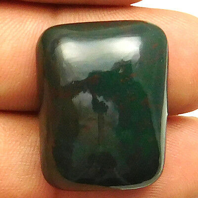 36.85 cts Natural Bloodstone Gemstone Octagon Shape Loose Cabochon For Jewelry