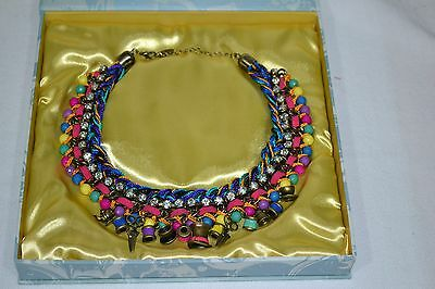 Disney Mad Hatter Alice Through The Looking Glass Necklace Collier NEW IN BOX