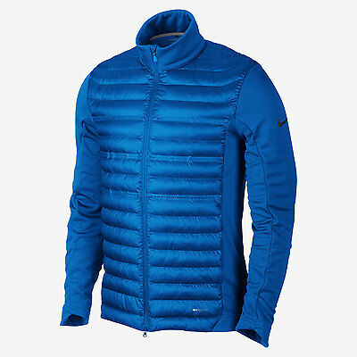 Nike Golf Full Zip Aeroloft Poly Filled Shield Jacket Size Large NWT Water Repel