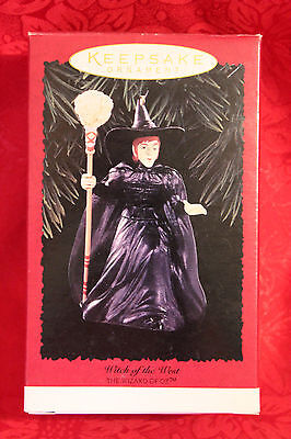 Ai Vintage Hallmark Ornament / 1996 Wizard Or Oz Witch