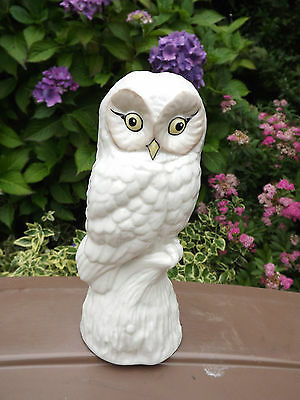 Donegal China large figure of a perched Owl   Fully stamped on base