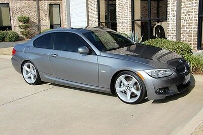 2013 BMW 3-Series Base Coupe 2-Door pace Gray M Sport Premium Navigation Auto 19 Inch Wheel Upgrade Heated Seats