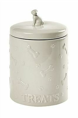 NEW Next Wags & Whiskers Dog Treat Jar Ceramic