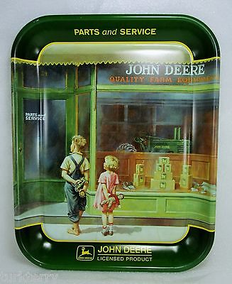 John Deere A Friend In Need Tray Parts and Service Quality Farm Equipment Decor