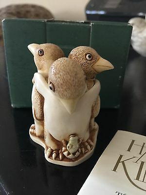 Harmony Kingdom TJPE Unexpected Arrival (Penguins) Mint in Box