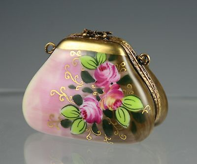 French Accents  Trinket Box from Limoges Franc Peint Main