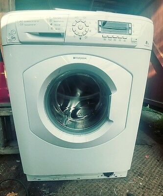 Hotpoint WMAO863P A+++ 8Kg 1600 Spin Washing Machine White New Eco Super Silent