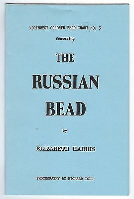 NWC  Russian Trade Bead  Booklet - reference pictures of the beads traded in NWC