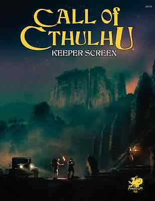 Call of Cthulhu RPG 7th edition Keeper Screen -  Brand New from Chaosium
