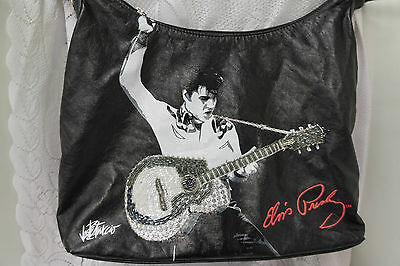 Lisenced Elvis Presley Shoulder Hand Bag Beaded