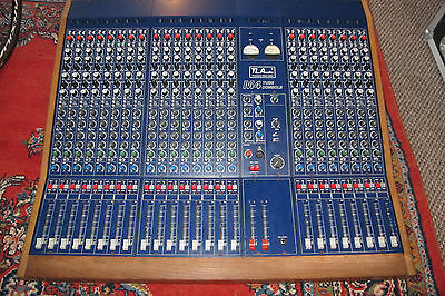 TLA TL audio m4 24 track valve desk console fully loaded