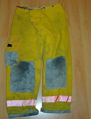 Bunker gear turnout gear Bodyguard fire fighter pants & liner 36 x 30 used