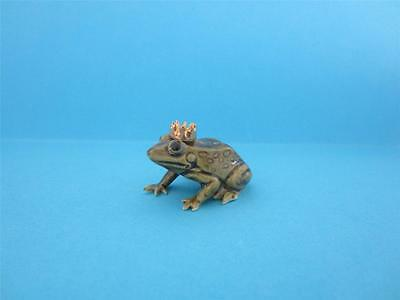 RETIRED HAGEN RENAKER FROG PRINCE FIGURINE COLOR VARIATION W/BOX *Mint*