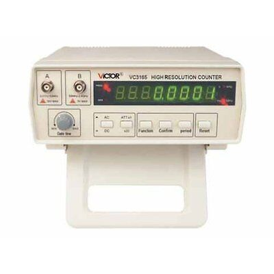 VICTOR VC3165 Radio High Frequency Counter RF Meter 0.01Hz-2.4GHz Professi...NEW