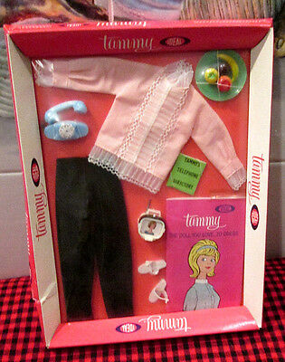 RARE~New+FactorySealed~1963 IDEAL~TAMMY OUTFIT~RING-A-DING~9152-0~NIB~NRFB~JAPAN