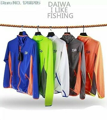 Daiwa Fishing Shirt Fishing Clothes Jacket 5 Colors All Size New With Tags
