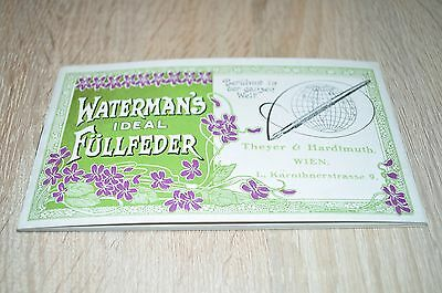 =ALTER WATERMAN IDEAL KATALOG=K u. K. MONARCHIE=UNGARN=FÜLLFEDER=FOUNTAIN PEN=