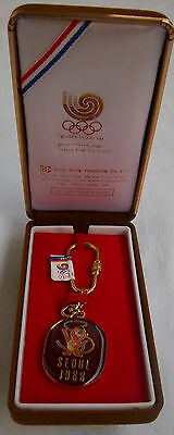 Orig.keyring  Olympic Games SEOUL 1988  //  in Box  !!  EXTREM RARE