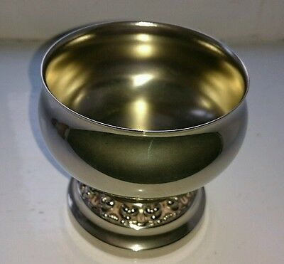 silver plate flower /posy bowl/goblet made by Ianthe