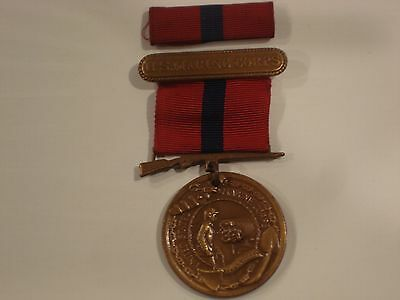 World War 2 Marine Corps Good Conduct Medal (no numbers and is not named)