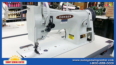 CONSEW 206RB-5 Walking Foot Leather and Upholstery Sewing Machine - NEW