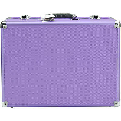 Copic Aluminum Case With Shoulder Strap-Purple IICASE-PURPL