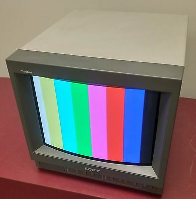 Sony Trinitron Color Video Monitor PVM-14N6U - 4:3/16:9 switchable  fully tested