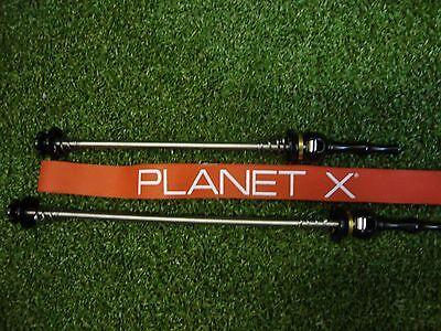 Planet X Titanium Cycling Quick Release Front/Rear Wheel Skewers 51g Ultralight