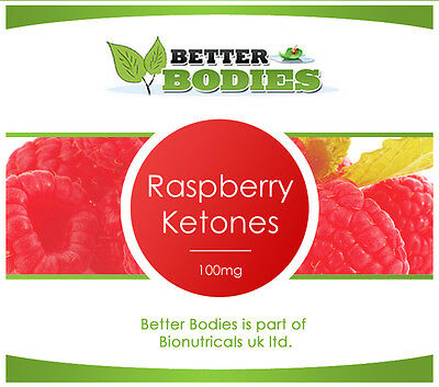 60 Raspberry Ketone Strong Diet Lose Weight Loss Pills Tablets 1 Month Supply
