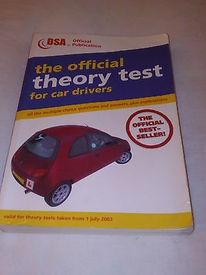 Official Theory Test for Car Drivers Book