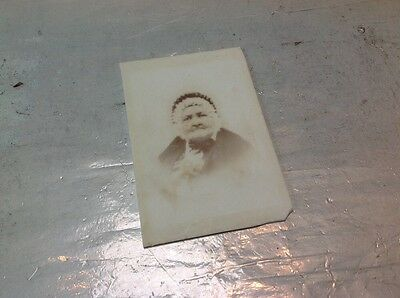 Rare Victorian ? Photograph On White Glass Unusual Item For A Collector