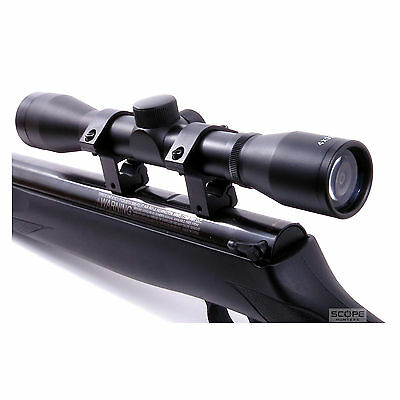 Air Rifle Airsoft Rimfire Hunting Telescopic Scope 4x32 Sight  Mounts Included