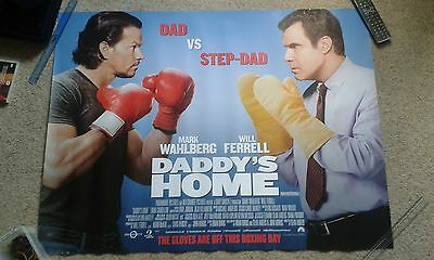 Daddy's Home original movie quad poster (30x40inches)