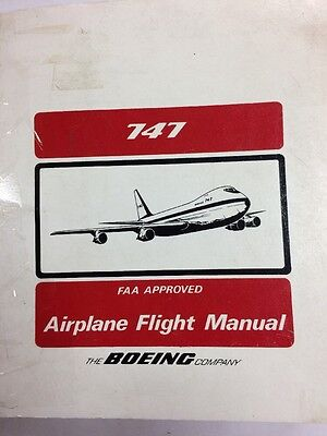 Boeing 747 Original FAA Approved Flight Manual