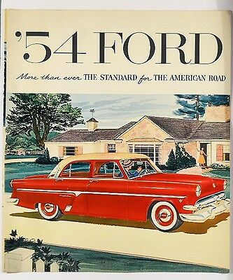 1954 Ford Cars Brochure