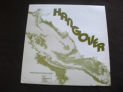 Wolfgang Schludre Combo Hangover Lp Peer Library Rare Jazz Funk Nr Mint