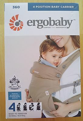 Ergobaby 360 Four Position Baby Carrier, Authentic