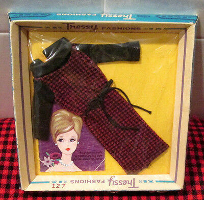 "Extremely Rare~Nib~1962 Vtg.american Character~""tressy""fashion~*neat Knit*~15903"